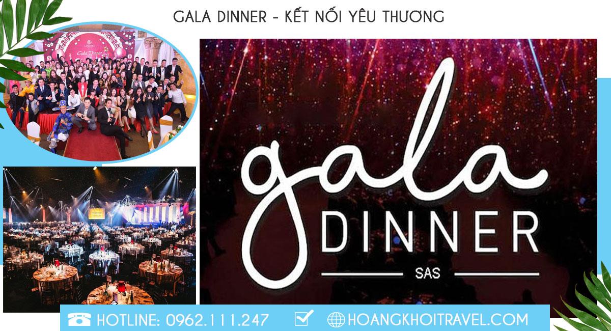 chuyên tổ chức gala dinner, party cuối năm