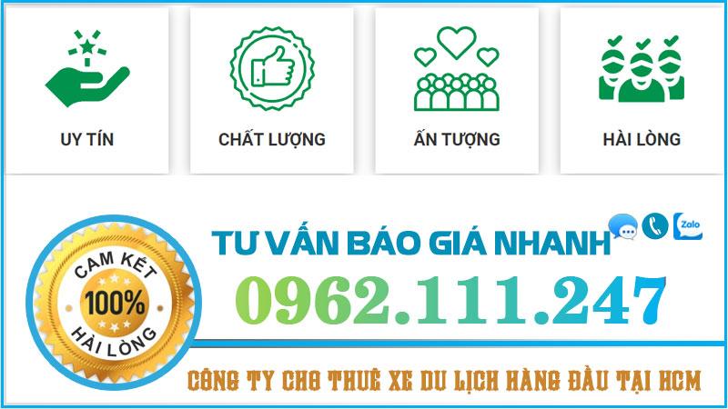 công ty cho thuê xe giá rẻ tại Hồ Chí Minh