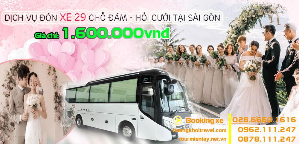 Dịch vụ cho thuê xe 29 chỗ giá rẻ tại Hồ Chí Minh