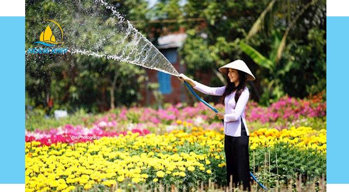 Du lịch miệt vườn miền Tây sông nước thu hút khách thập phương