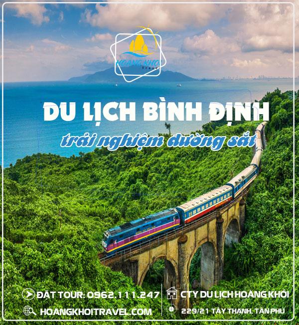 Tour Du Lịch Quy Nhơn - Binh Định bằng tàu hỏa (3N3Đ)