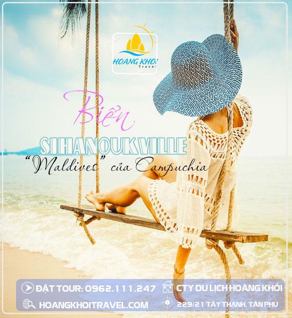 Tour Du lich Sihanoukville - Phnom Pennh (4 Ngày 3 Đêm)