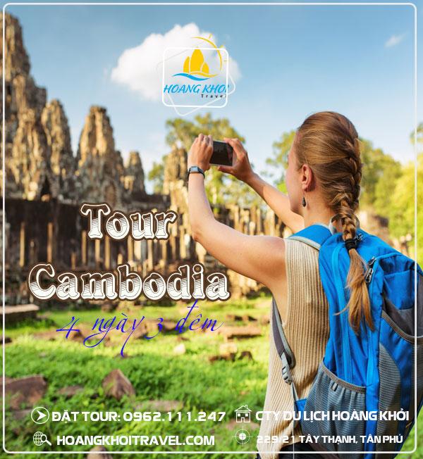 Tour Du Lịch Campuchia (4 Ngày 3 Đêm)