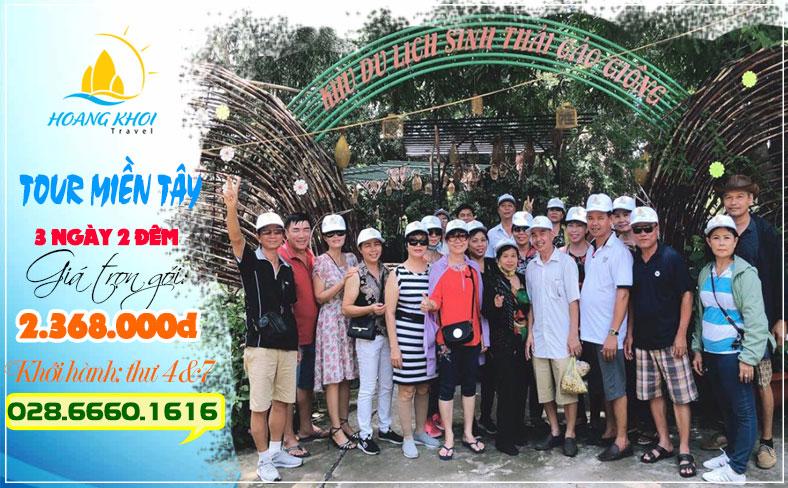 tour Châu Đốc 3 ngày 2 đêm giá rẻ