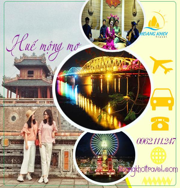 Tour Đà Nẵng - Huế 3 ngày 2 đêm giá rẻ