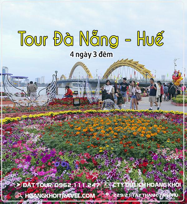 Tour Đà Nẵng - Huế 4 ngày 3 đêm giá rẻ