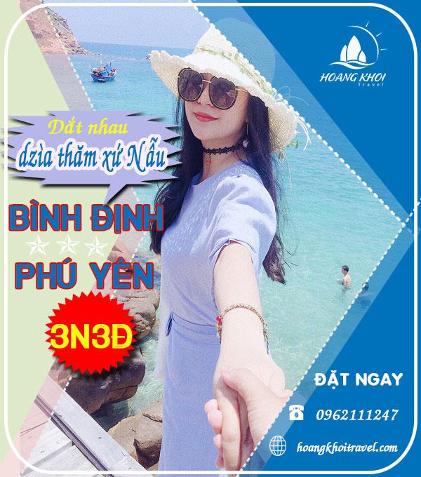 Tour Binh Đinh 3 ngày 3 đêm xe giường nằm