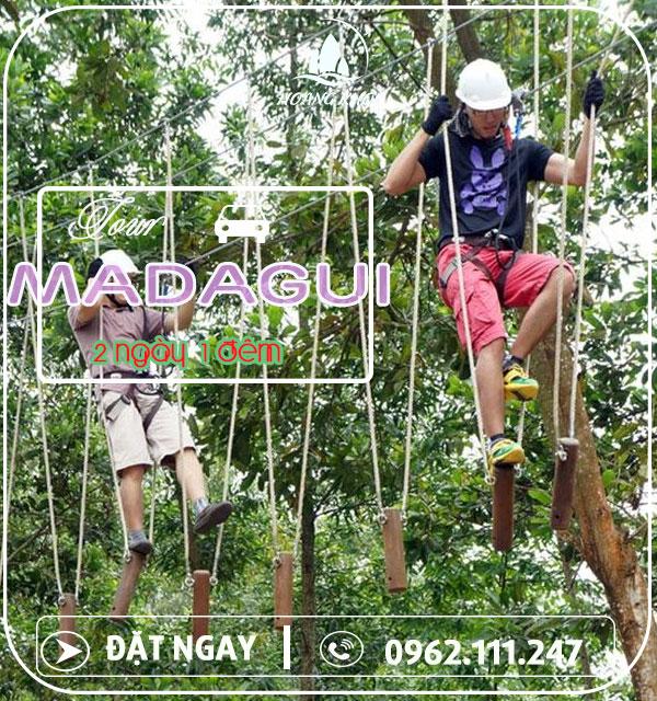 Chương trình du lịch Madagui 2 ngày 1 đêm