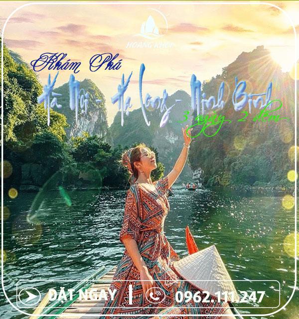 Tour Du Lịch Hà Nội - Ninh Bình - Hạ Long (3 Ngày 2 Đêm)