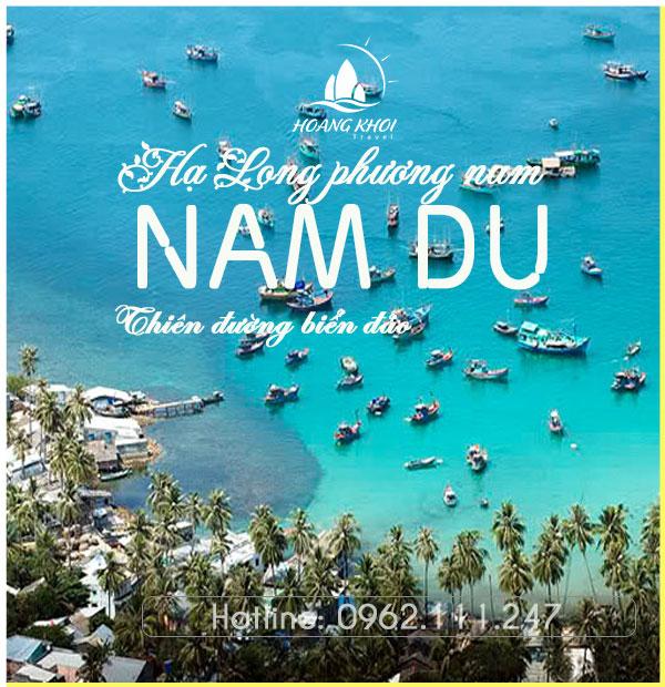 Tour du lịch Nam Du 2 Ngày 2 Đêm