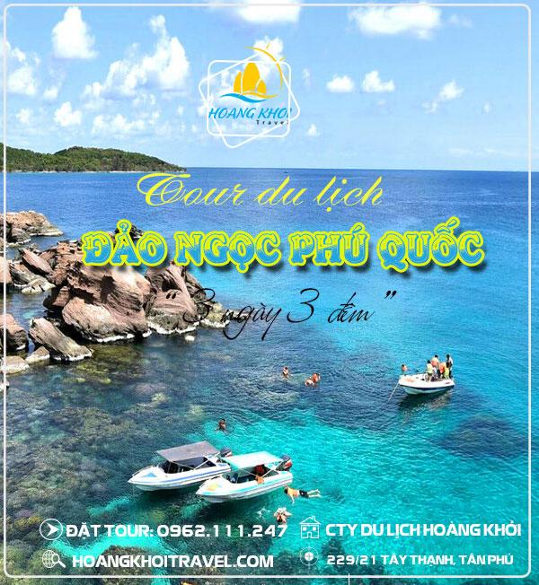 Tour Phú Quốc 3 ngày 3 đêm (Tàu Cao tốc)