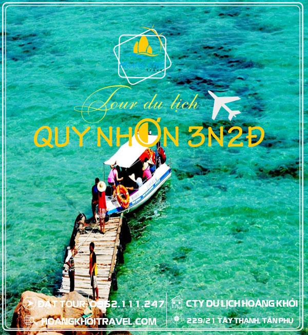 Tour Du Lịch Quy Nhơn Bình Định bằng máy bay (3 Ngày 2 Đêm)