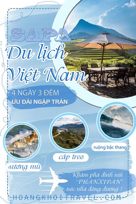 Tour Du Lịch Hà Nội - Lào Cai - Sapa (4 Ngày 3 Đêm)