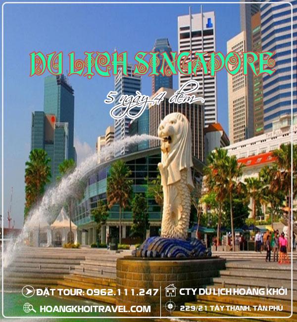 TOUR DU LỊCH SINGAPORE - MALAYSIA (5 Ngày 4 Đêm)