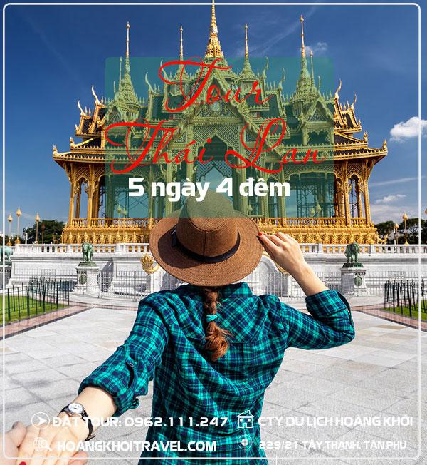 Tour Du Lịch Thailand Bangkok - Pattaya (5 Ngày 4 Đêm)