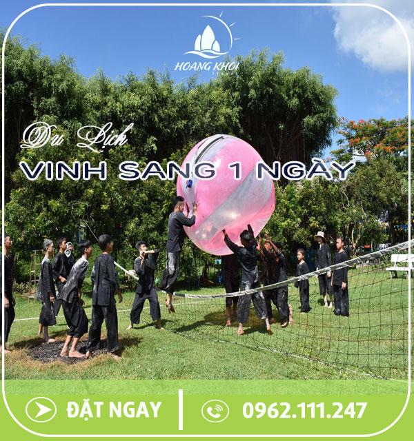 TOUR DU LỊCH VINH SANG - CHỢ NỔI - CÁI BÈ (1 NGÀY)